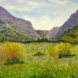 Meadow and Mountains 2