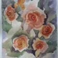 Water colour roses
