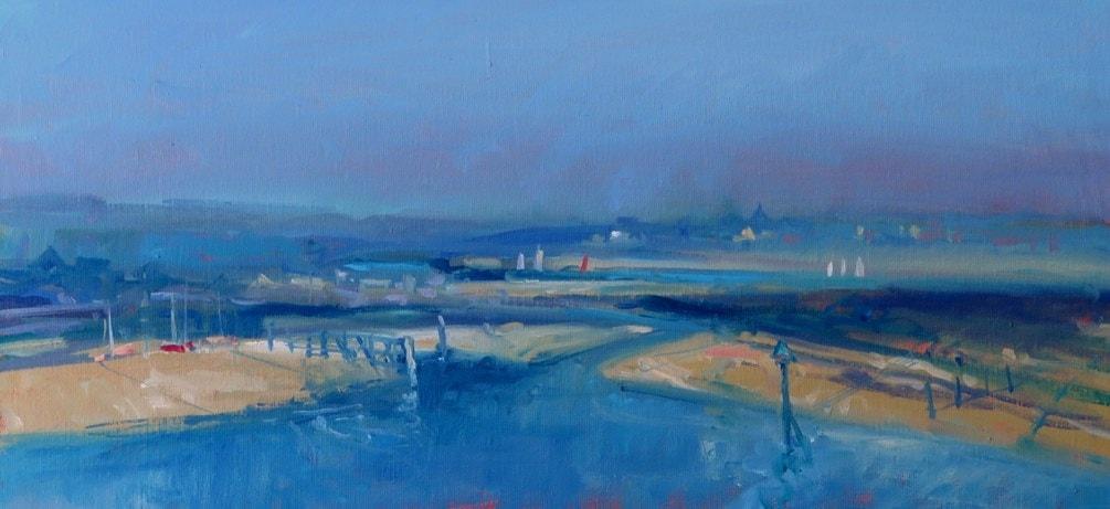 estuary towards rye