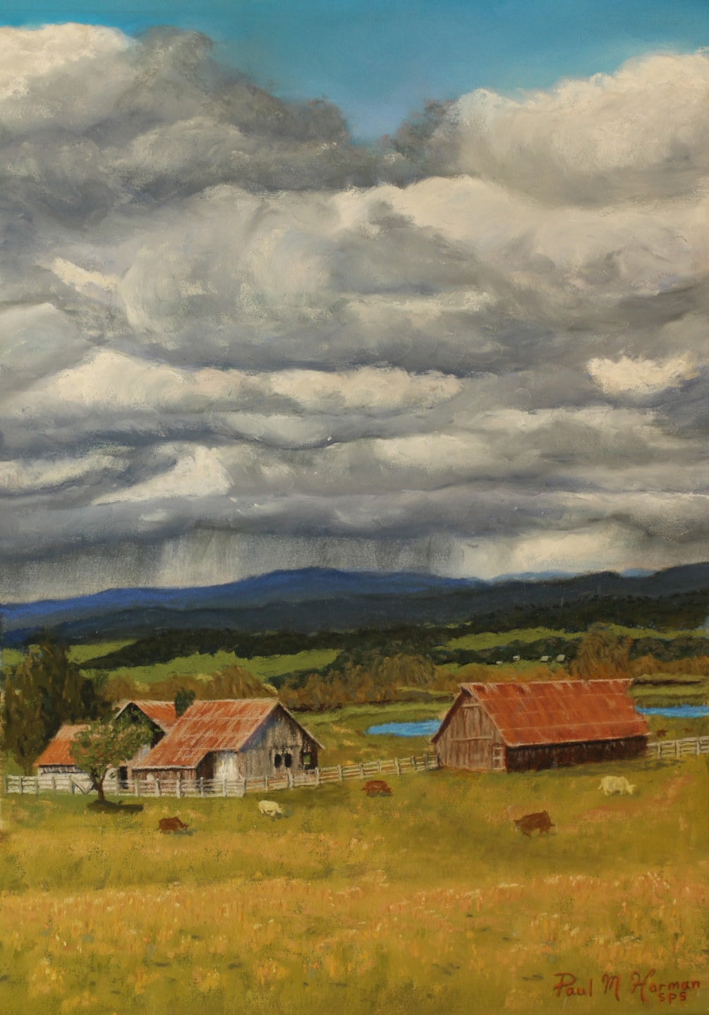 Spring Storm on the Ranch