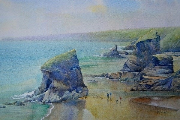 Tide Out, Bedruthan Steps