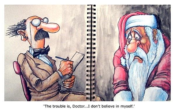 The woes of Santa.
