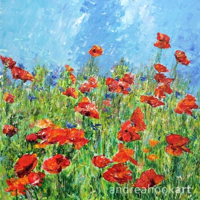 Blowsy Poppies (complete)