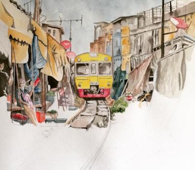 Maeklong Railway Market (WIP 3)