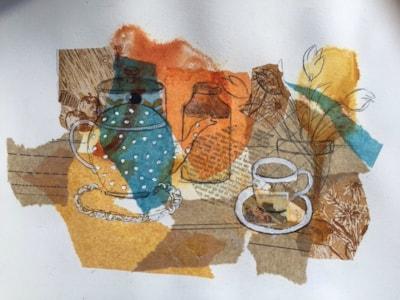 Teatime collage