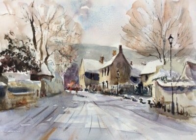 Cotswolds in the Snow