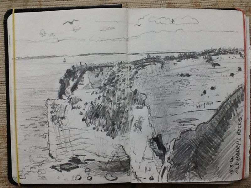 Old Harry's Rocks, Studland.
