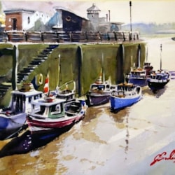 Fishing Boats in Newcastle