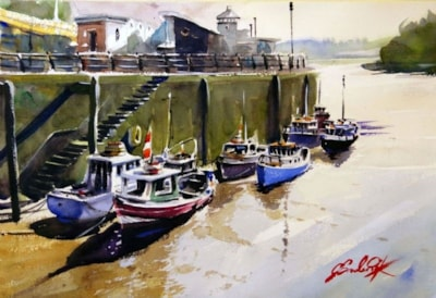 Fishing Boats in Newcastle