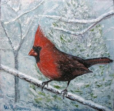 The Cardinal bird of Nth America