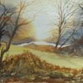 Sunrise over Eastnor Ponds