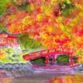 Autumn in a Chinese Garden