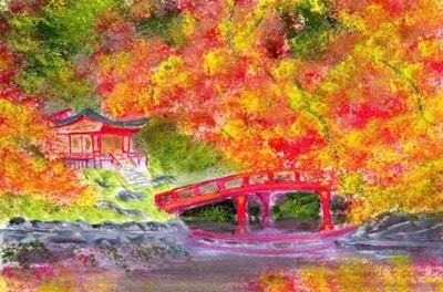 Autumn in a Chinese Garden