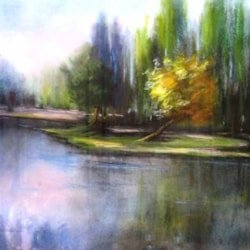riflessi sul fiume (reflections on the river)
