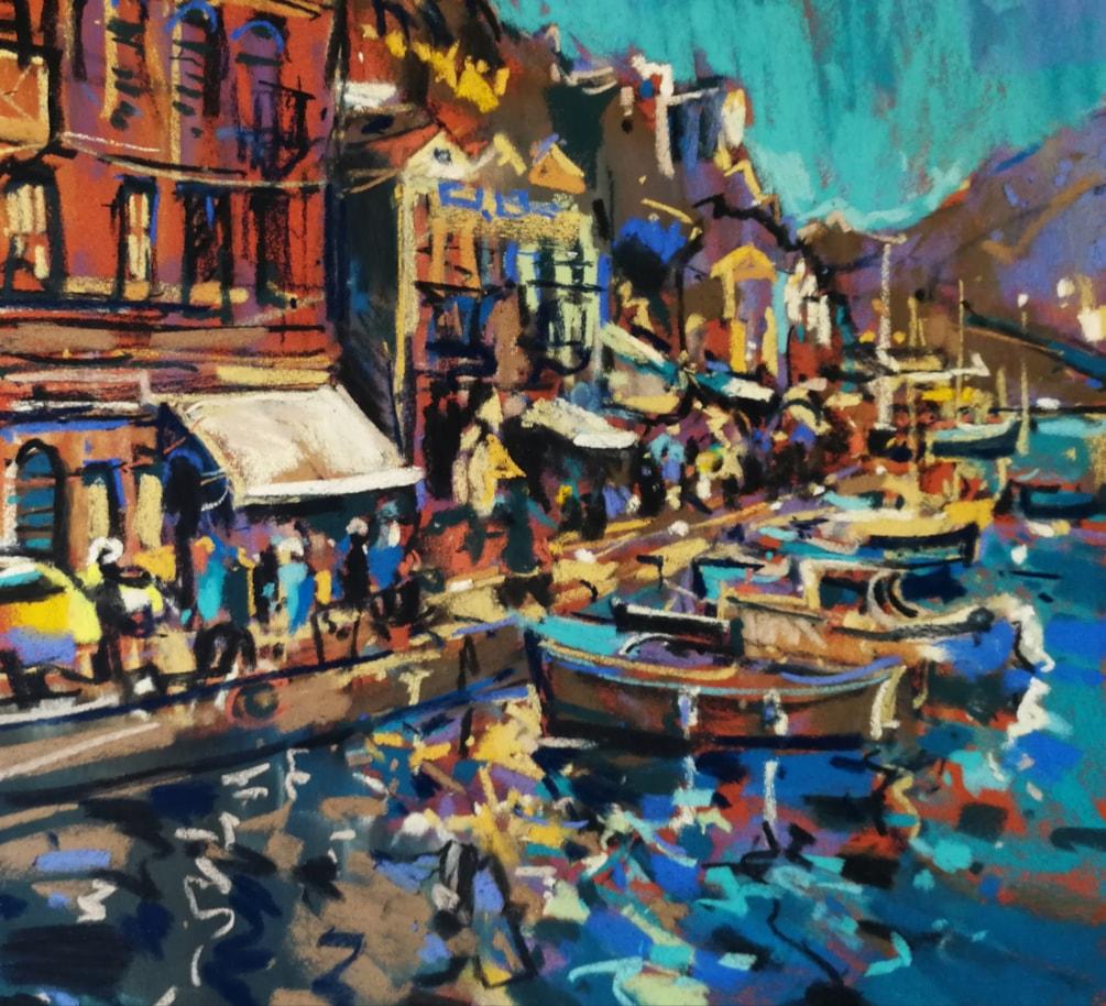 Symi Harbour study