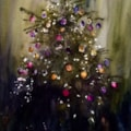 One of Alex's numerous Christmas trees.