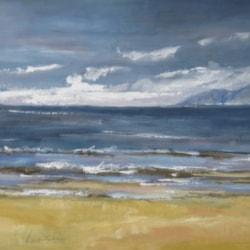 il mare di Rimini ( sea of Rimini) Leonetta Rossi - painter