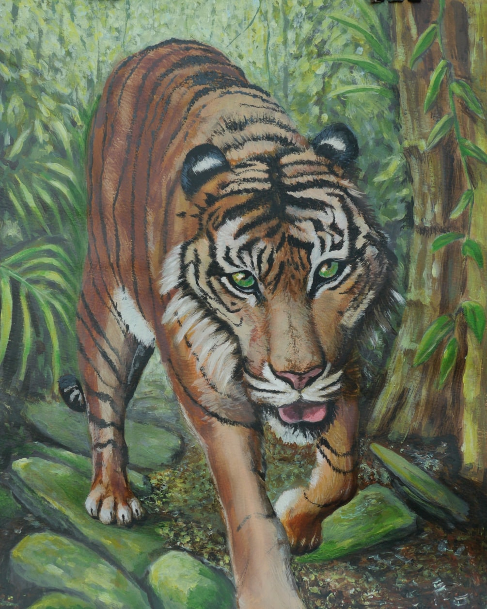 Help needed with Tiger on the Prowl