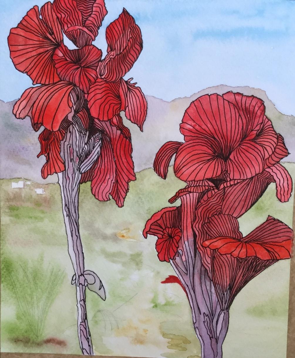 Flowers in Northern Cyprus