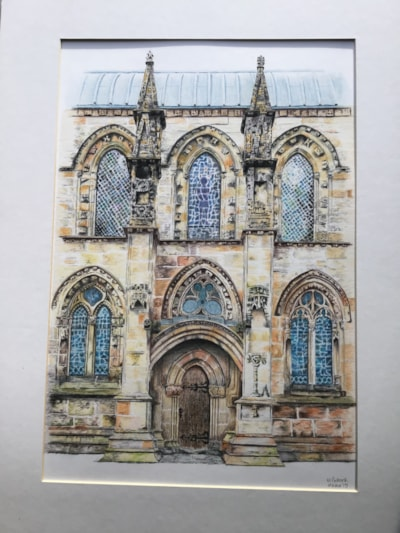 A slice of Rosslyn Chapel