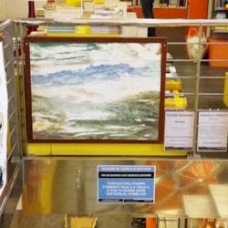My work exhibited at Mondadori Bookstore of Padua.