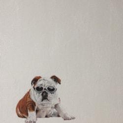 Goggled Bulldog version 2