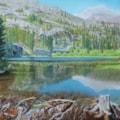 The Beaver Pond at Fallen Leaf Trailhead