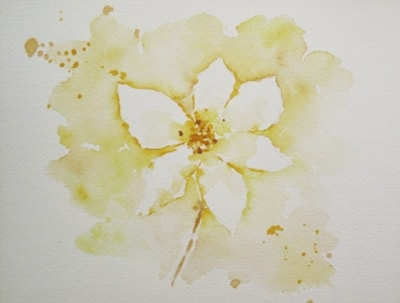 White Clematis (Yellow Challenge)