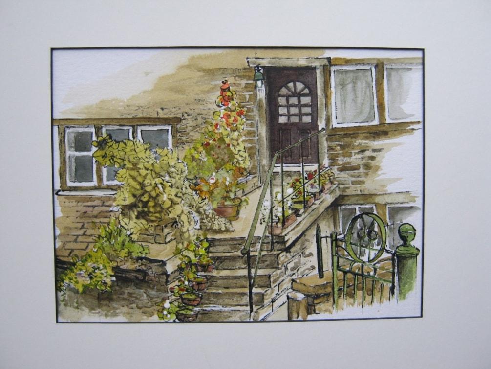 """Haworth front garden"""