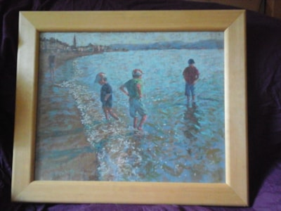 weymouth seaside (part of artist collection .. my 3 boys)
