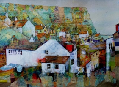 Staithes looking down Church Street