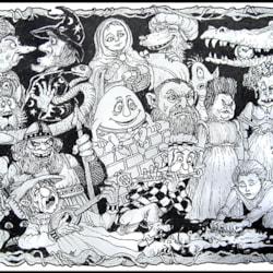 fantasy doodle-small