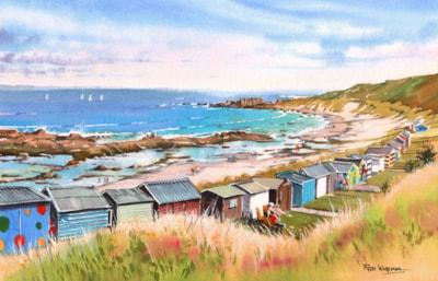 Beach Huts at Hopeman