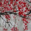 Plum Blossom (Marjorie's challenge)
