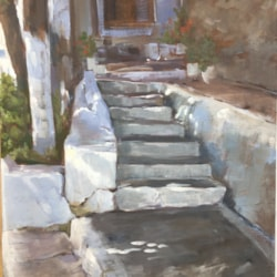 STEPS IN KALYMNOS, GREECE