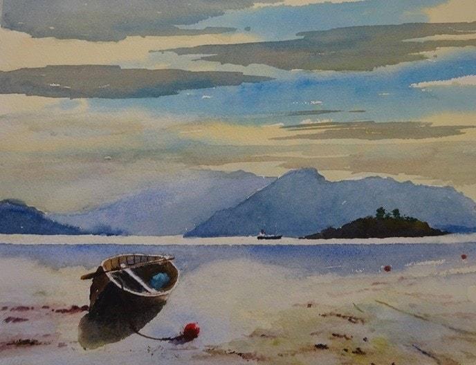 Loch Carron Western Scotland