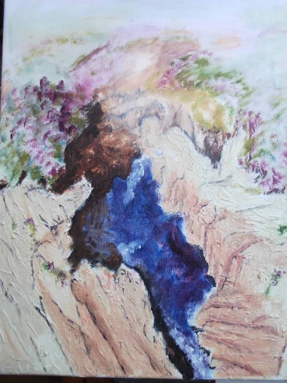 Hebredean Waterfall