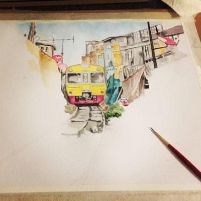 Maeklong Railway Market (WIP 2)