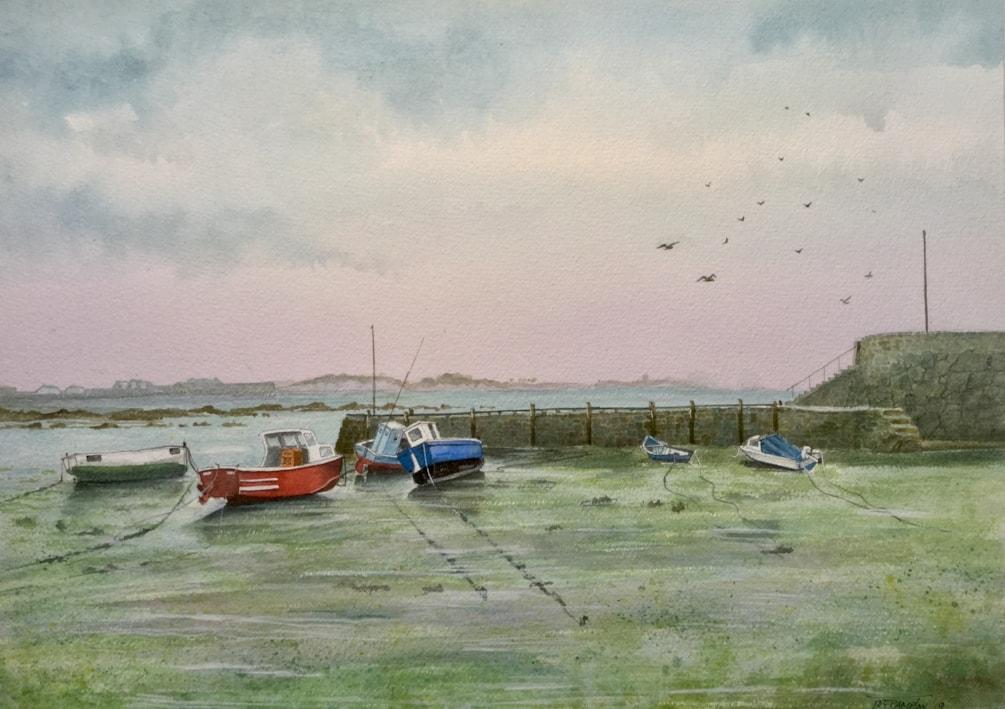 Salerie Corner Harbour, Guernsey