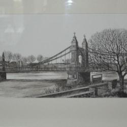 Hammersmith Bridge - London