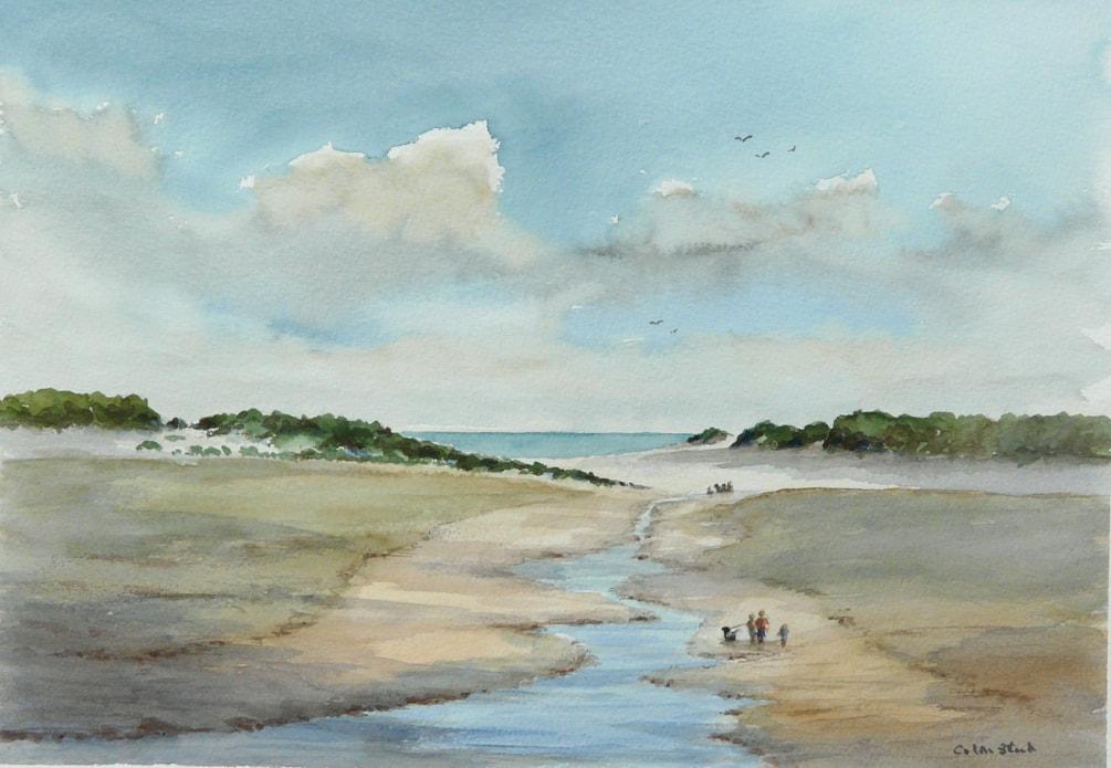 Holkham Bay, North Norfolk