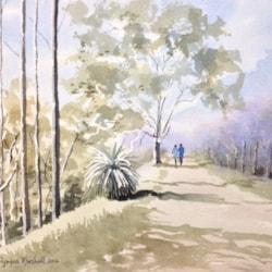 Walking the Darlington Bridal Trail in the Perth Hills. WA.
