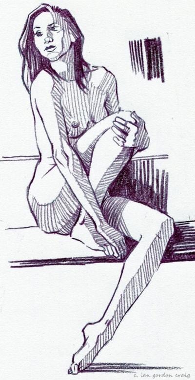 female figure study 1