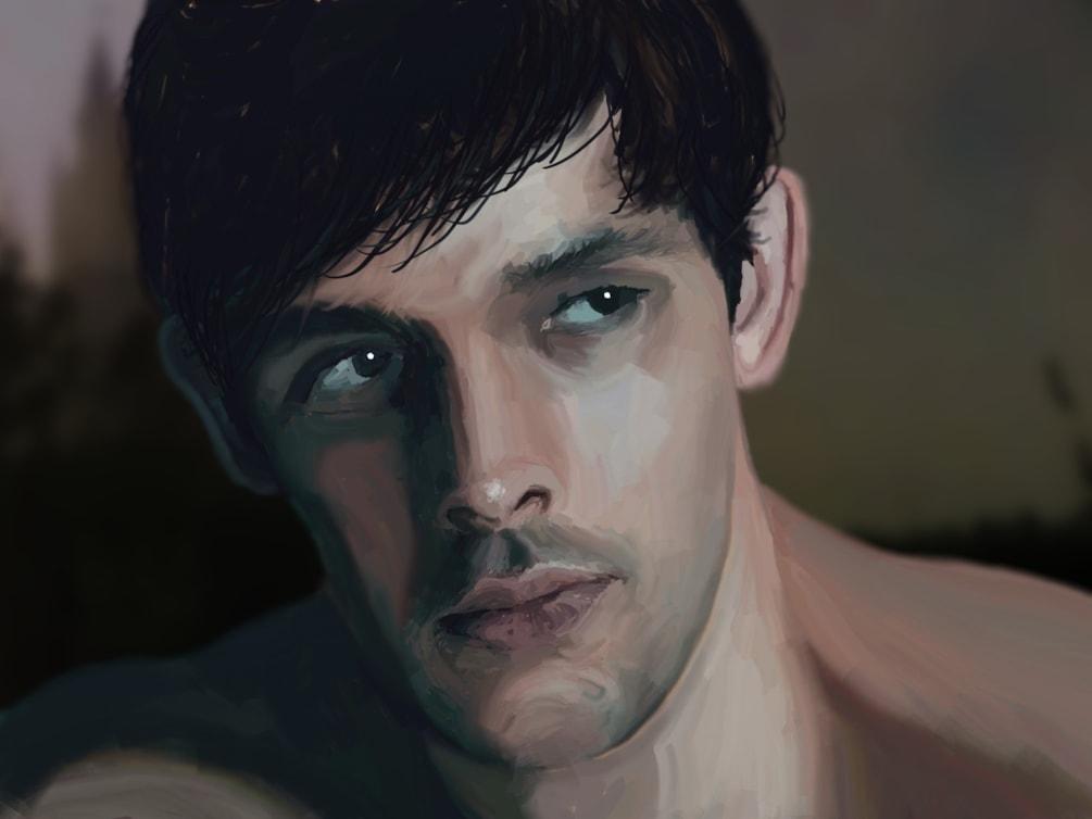 Young Merlin (Colin Morgan)