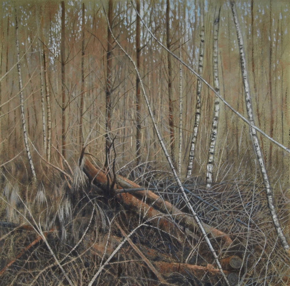 forest painting January 2020 2
