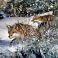 foxes in the snow copy 2 copy