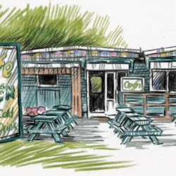 green hut cafe ollerton roundabout