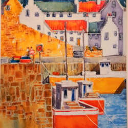 harbour boats crail east neuk