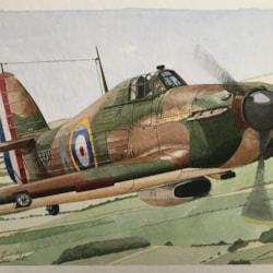 hurricane Mk11a P3351