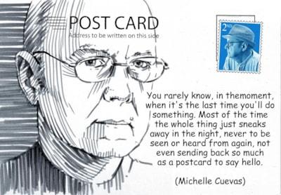 ian gordon craig postcard